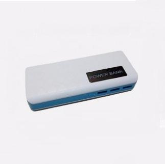 MK powerbank 20k mAh (สีขาว-ฟ้า) Picture