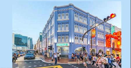Chinatown Hotel, off Keong Saik Road, Singapore Picture
