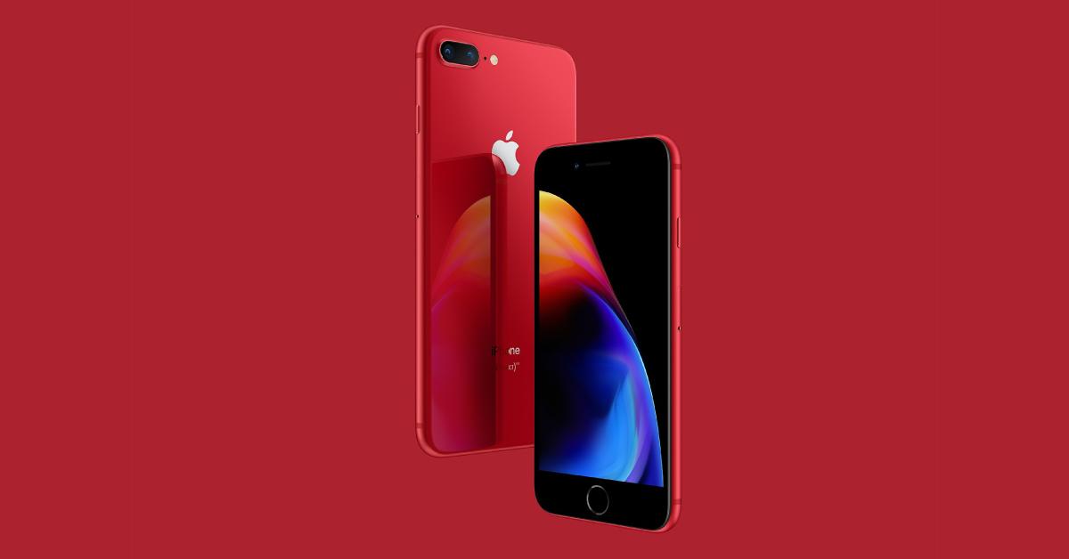 iPhone 8 (Red) Limited Edition เปิดตัวอย่างเป็นทางการ   Picture