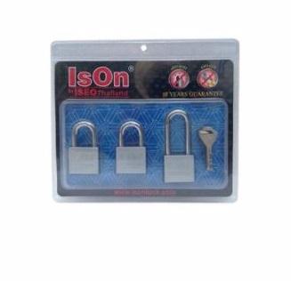 ISON  ชุดกุญแจ KA 3 ตัว ISON รุ่น 899CS403KA ขนาด 40 มม.