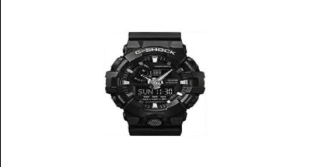 G-Shock นาฬิกาข้อมือผู้ชาย 2 ระบบ รุ่น GA-700-1BDR (สีดำ) Picture