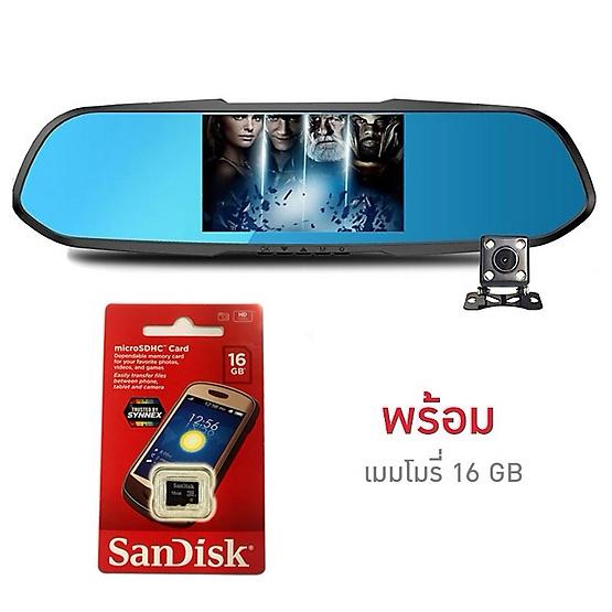 Anytek กล้องติดรถยนต์หน้า-หลัง รุ่น X7 1080P Full HD พร้อมเมมโมรี่ 16GB Picture