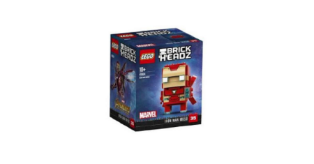 LEGO ตัวต่อเสริมทักษะ ไอรอน แมน MK50 รุ่น 41604