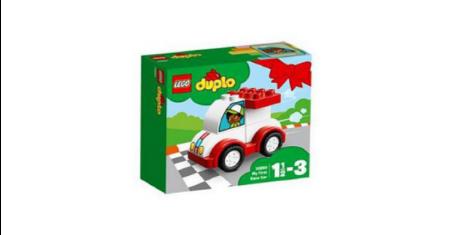 LEGO ตัวต่อเสริมทักษะ ดูโปล มาย เฟิร์ส เรซ คาร์ รุ่น 10860