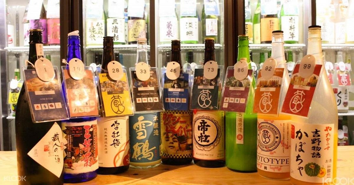 บุฟเฟ่ สาเกญี่ปุ่น Sake All You Can Drink Picture