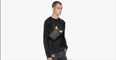 กระเป๋า Fendi รุ่น Black 'Bag Bugs' Single-Strap Backpack Picture