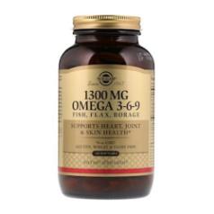 โค้ดส่วนลด iHerb | น้ำมันตับปลา Omega 3-6-9 :  1300 mg, 120 Softgels