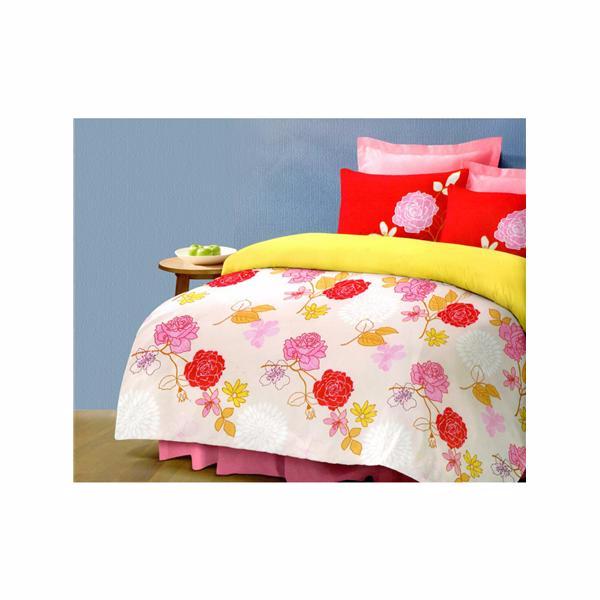 Promotion Bedsheets  ชุดเครื่องนอน ควีนไซส์ 6 ชิ้น ขนาด 6 ฟุต ลาย Joyous Picture