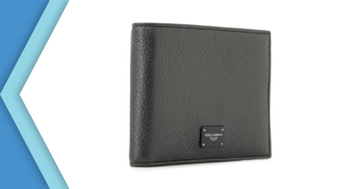 Dolce & Gabbana Bifold Wallet With Coin Compartment