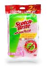 สก๊อตช์-ไบรต์® ฟองน้ำใยขัดสีชมพู แอนตี้แบคทีเรีย (แพ็คคู่) Picture