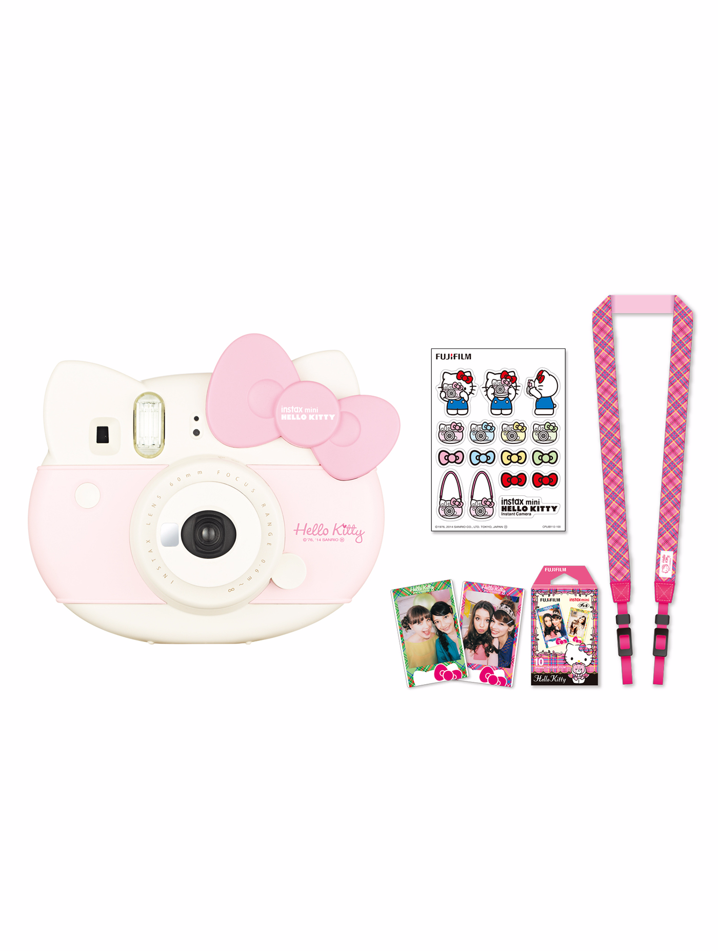 FUJIFILM กล้องโพลารอยด์ รุ่น Instax Mini Hello Kitty