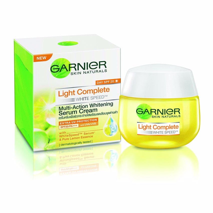 Garnier Light Complete Day SPF20 Serum Cream 50ml