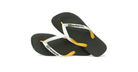 HAVAIANAS : BRAZIL MIX GREEN OLIVE Picture