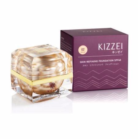 KIZZEI รองพื้น Skin Refining Treatment เบอร์ 02 ปริมาณ 15 กรัม Picture