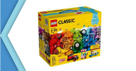 LEGO ตัวต่อเสริมทักษะ คลาสสิก บริค ออน อะ โรล รุ่น 10715 ราคา 940 บาท Picture