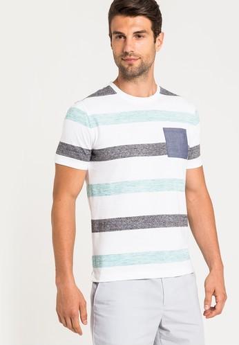 G2000 เสื้อยืด Holiday Bold Stripes