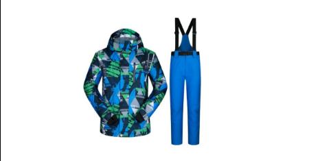 ส่วนลด Aliexpress ราคาพิเศษ Ski Suit Men Winter (US $78.75)