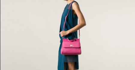 กระเป๋า Dolce& Gabbana รุ่น Pink Medium Sicily Bag Picture