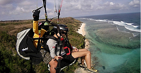 PARAGLIDING OVER BALI'S SPECTACULAR COAST, BALI Picture