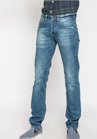 กางเกงยีนส์ทรงเดฟ รุ่น Selvedge ริมแดง สี 12 Medium Washed Picture