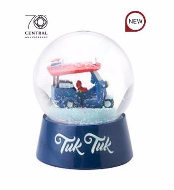CENTRAL ลูกแก้วหิมะ ลายรถตุ๊กตุ๊ก
