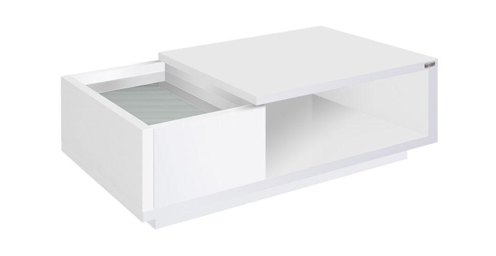 Penny โต๊ะกลาง สีขาว ขนาด 90 ซ.ม. สไตล์คอนเทมโพรารี Picture