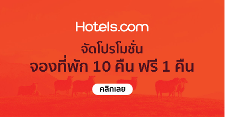 Hotels  จัดโปรโมชั่น จองที่พัก 10 คืน ฟรี 1 คืน Picture