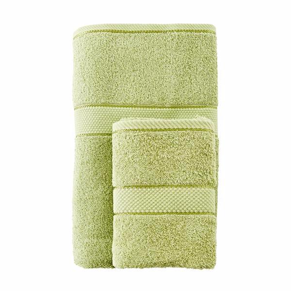 Promotion Bath Linen CUIZIMATE ชุดผ้าขนหนู 2 ชิ้น รุ่น Gold สีเขียว Picture