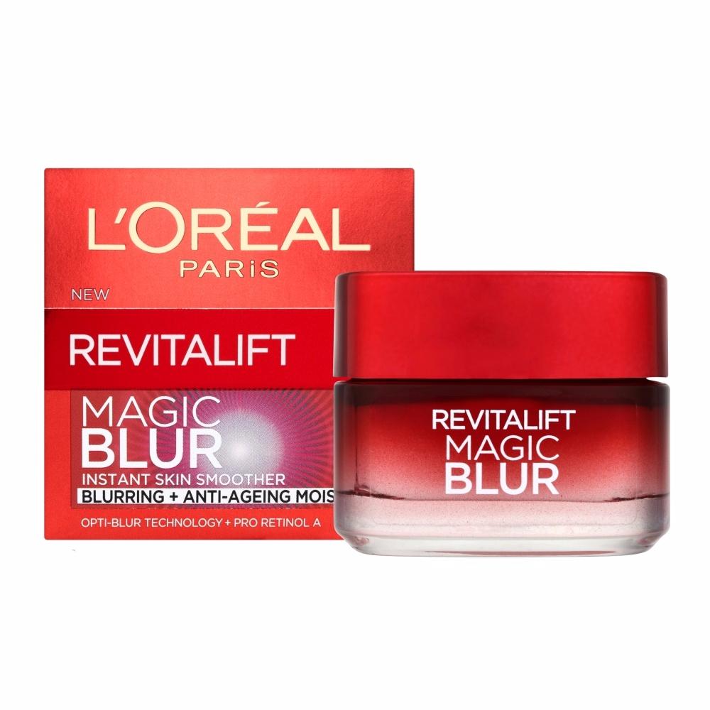 L'Oreal Paris ผลิตภัณฑ์บำรุงผิวหน้า Dex Revitalift Magic Blur Moist Cream 50 Ml