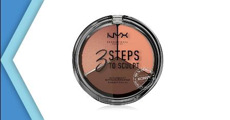NYX Professional Makeup 3 Steps To Sculpt Face Sculpting Palette #Dee Picture