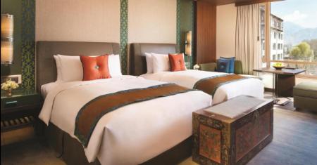 โรงแรม Shangri-La Hotel Lhasa ทิเบต