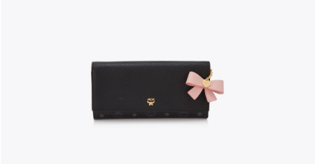 MCM กระเป๋า แบรนด์เนม รุ่น Visetos Mina Three Fold Wallet