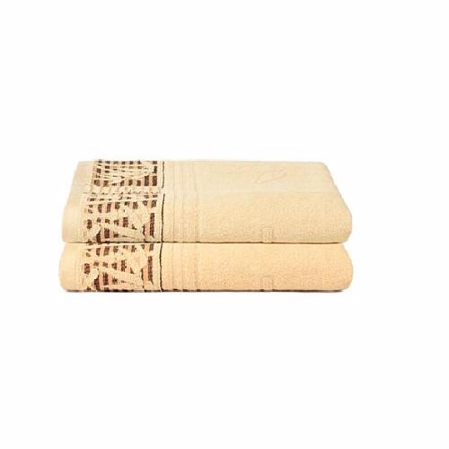 Promotion Bath Linen ผ้าเช็ดตัว CUIZIMATE สีคอฟฟี่ 2 ชิ้น Picture