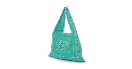 ดีลส่วนลด Anello ลดราคา กระเป๋าผ้าพิมพ์ลาย Cotton 100% ปรับสายผูกได้