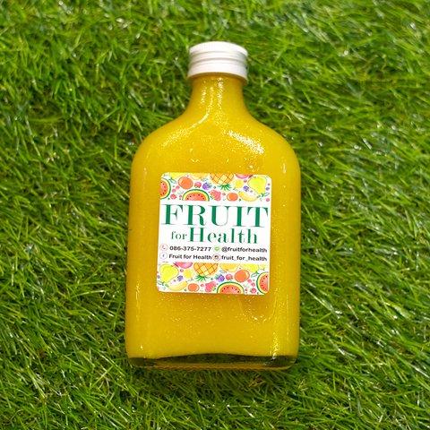 น้ำส้มคั้น 100% (180ml) Picture