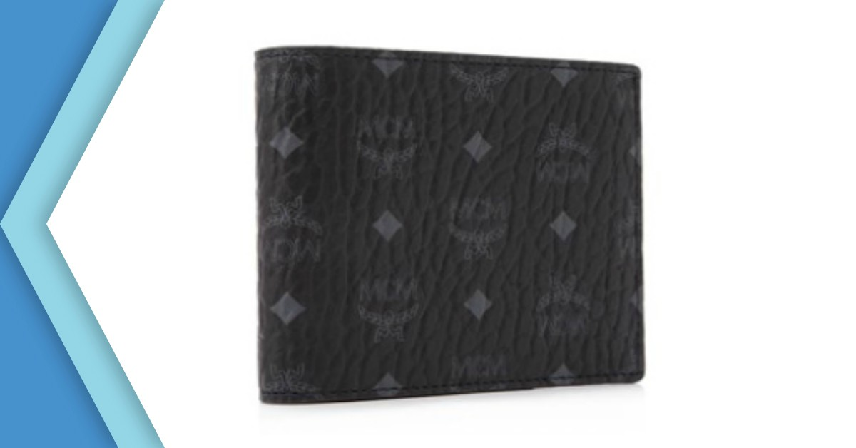 MCM Claus Bifold Wallet With Card Case