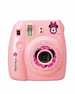 FUJIFILM กล้องโพลารอยด์ รุ่น Instax Mini 8 Minnie Mouse สีชมพู