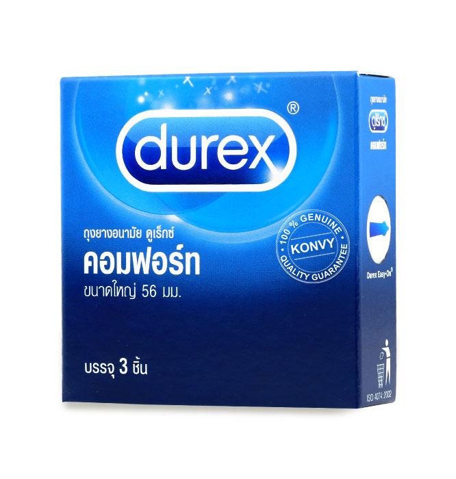 Durex Comfort Condom 56mm (3pcs) Picture