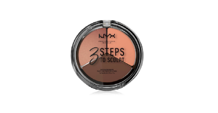 NYX Professional Makeup 3 Steps To Sculpt Face Sculpting Palette #Dee Picture