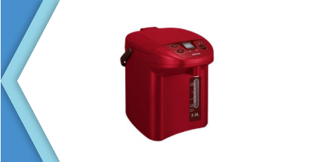 TOSHIBA กระติกน้ำร้อนดิจิตอล รุ่น PLK30FLRA ขนาด 3.0 ลิตร สีแดง Picture