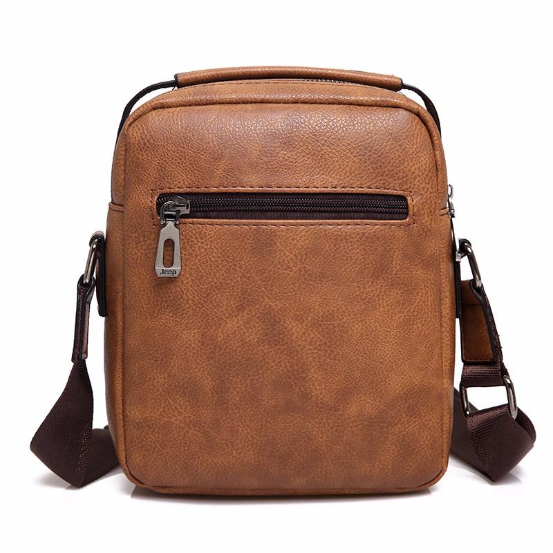 กระเป๋าสะพาย  JEEP BULUO 2014 สีน้ำตาล