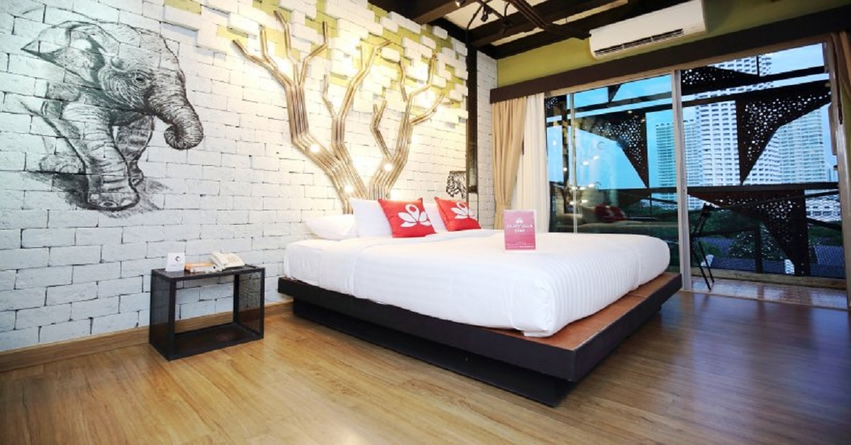 โรงแรม ZEN Rooms Jomtien Beach, Pattaya, Thailand Picture