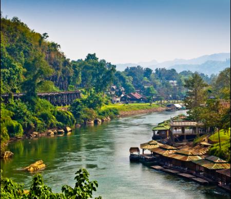 Booking ที่พักราคาถูก : รวมที่พัก กาญจนบุรี ราคาถูก เริ่มเพียง 350 บาท