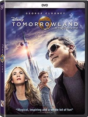 DVD ภาพยนตร์เรื่อง Tomorrowland - ผจญแดนอนาคต