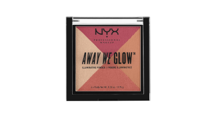 NYX Professional Makeup Away We Glow Illuminating Powder #Sunset   Picture