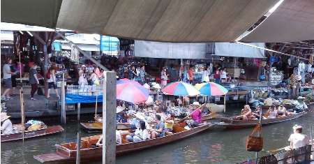FULL DAY BOAT CANAL ADVENTURE BANGKOK THAILAND Picture