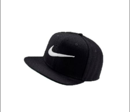 Nike Sportswear Pro Swoosh หมวก (ดำ/ขาว)