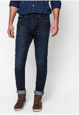Levi's กางเกงยีนส์ Willy Wrinkle 512 Slim Tapered Picture