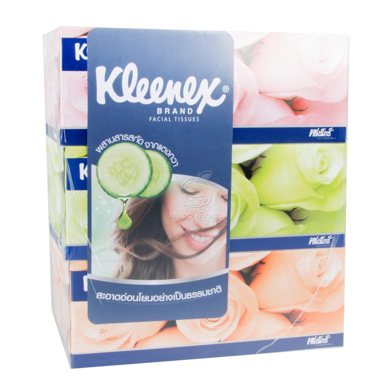 Kleenex Facial Tissue 150 Sheets แบบแพ็ค