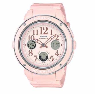 Casio Baby-G นาฬิกาข้อมือผู้หญิง สีชมพู